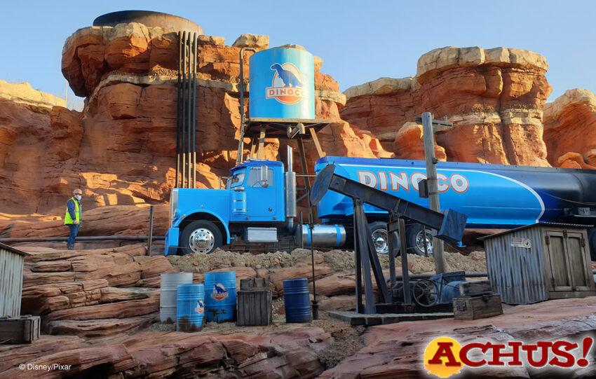 Empresas locales participan en la realización de la nueva atracción de Disneyland Paris sobre el tema Cars