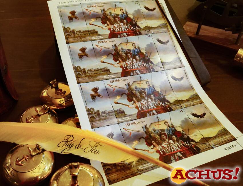 Puy du Fou ya cuenta con su propio sello de Correos