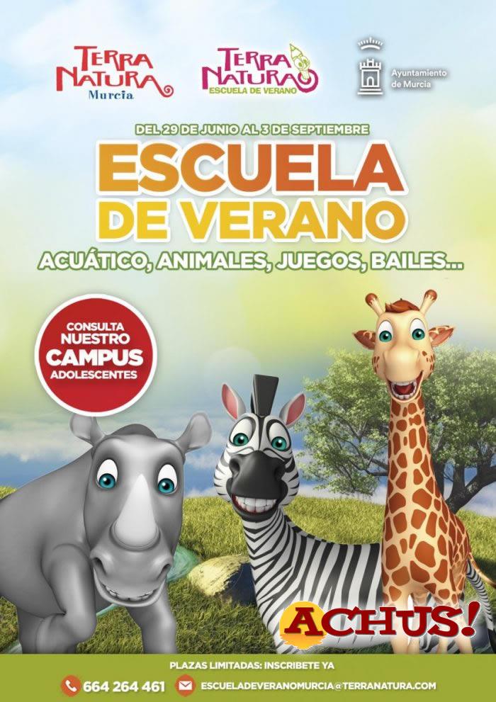 La Escuela de Verano de Terra Natura Murcia 'viajará' este año en el tiempo con sus alumnos