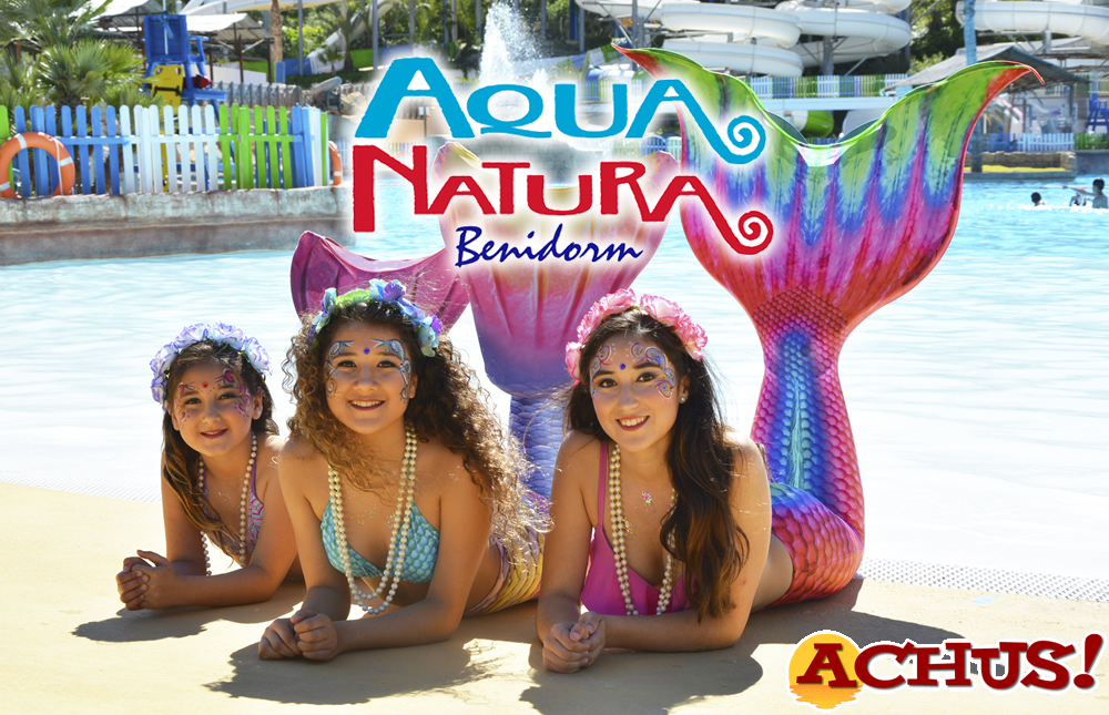 Aqua Natura Benidorm acoge la celebración del Primer Encuentro Nacional de Sirenas y Tritones