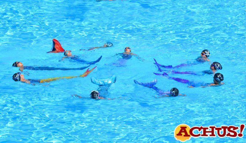 sirenas de natación sincronizada del Club La Nucía