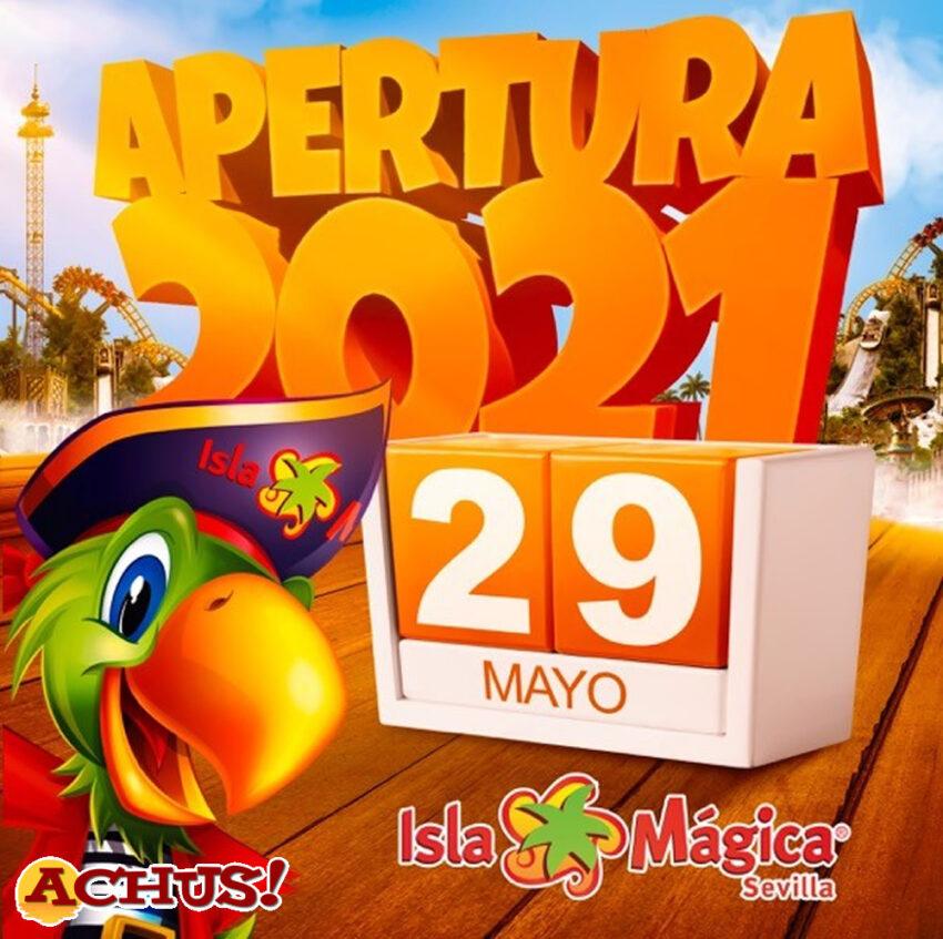 Isla Mágica abrirá sus puertas el próximo día 29 de mayo