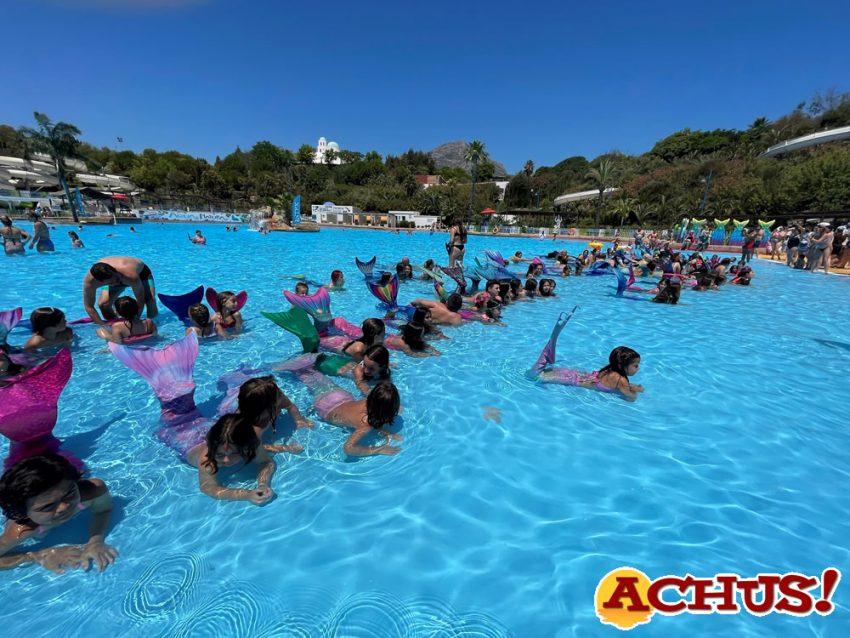 Más de 140 sirenas participan en el Primer Encuentro Nacional de Sirenas y Tritones en Aqua Natura Benidorm