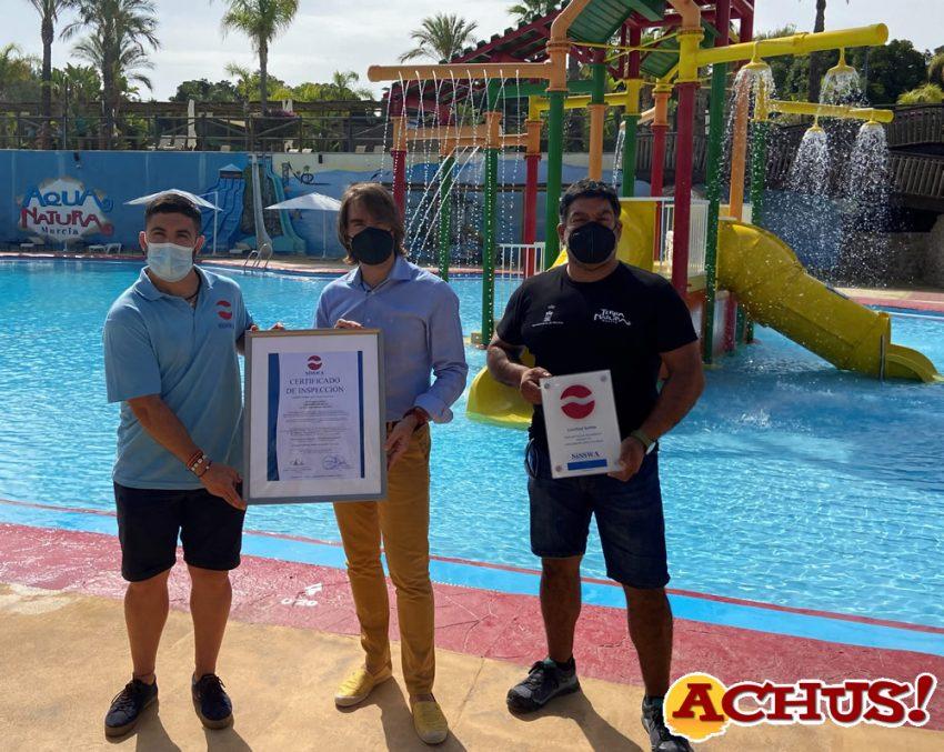 Terra Natura Murcia obtiene el certificado de excelencia que avala la calidad y seguridad de sus instalaciones acuáticas